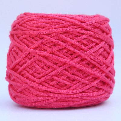 FidgetGear 200g Smooth Cotton Soft Double Knitting Wool Yarn Baby Woolcraft Gift #16 Melon Red