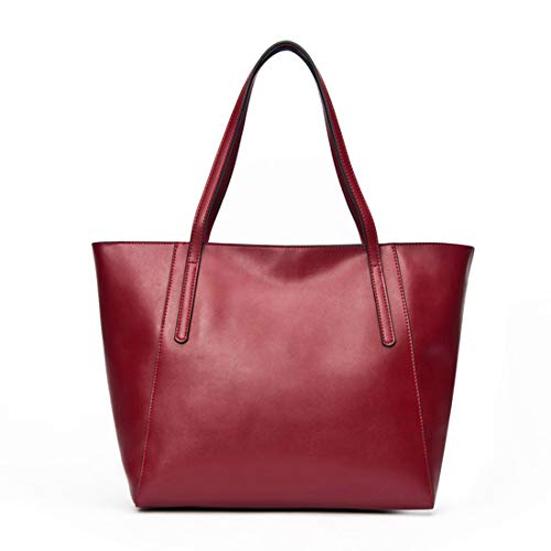 À color Femme Cuir White Red Main Sac Wine Pour Houyazhan En Véritable RxHqqA
