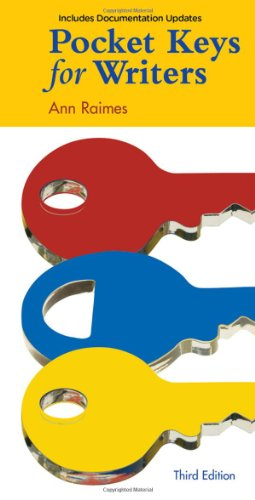 Pocket Keys for Writers, Documentation Update
