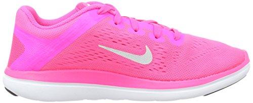 GS Silver Metallic Blast Chaussures de Pink 2016 RN Course Rosa Fille black Nike Flex q6SPt