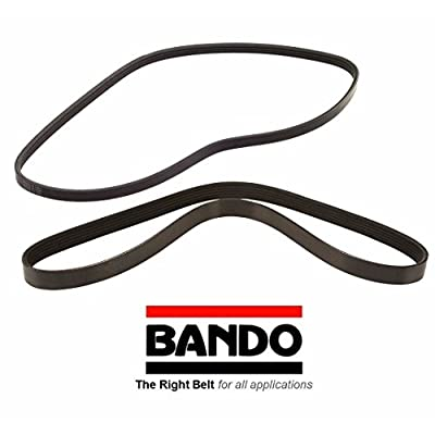 BANDO Drive Belt Set Replacement for Subaru Baja 2003-2006 All models Alternator-Air Conditioner-Power Steering Belt Set(2 belts) BANDO 4PK895 5PK880 Accessory Serpentine Drive Belt Set for Pulleys: Automotive