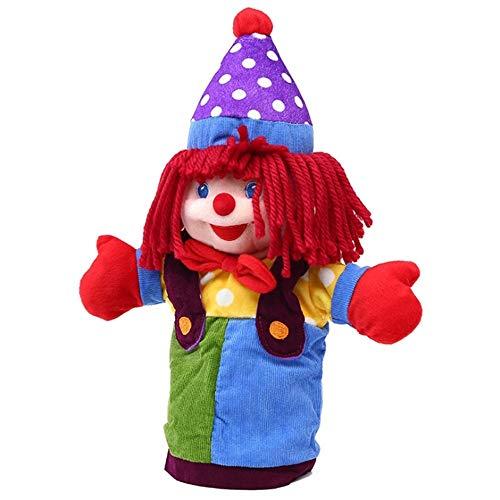 Holemee Furry Toy Dolls 37cm Clown Big Hand