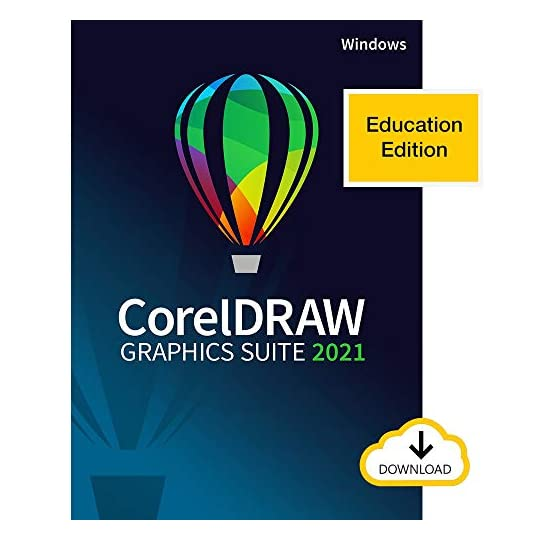 CorelDRAW Graphics Suite 2021 | Education Edition | Graphic Design Software for Professionals | Vector Illustration…