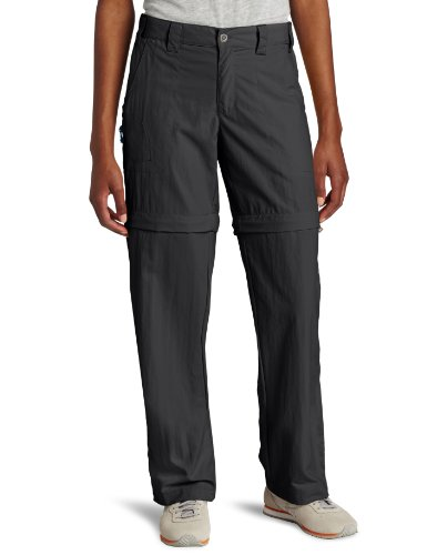 White Sierra Women's Sierra Point 29-Inch Inseam Convertible Pant, Large, Caviar ()