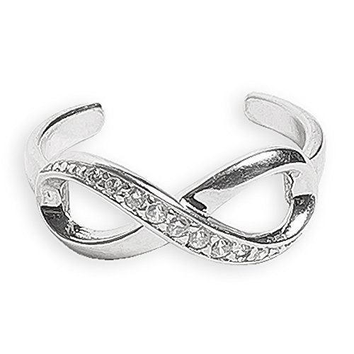 Toe Ring | Infinity .925 Sterl