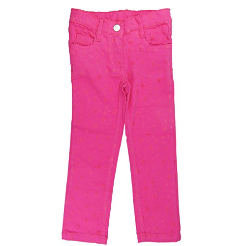 Girls Pink Denim (Bebone Girls Star Cartoon Denim Leggings (Red, 6T))