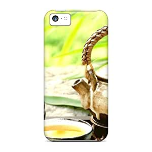 Premium Food And Drink Tea Heavy-duty Protection Case For Iphone 5c