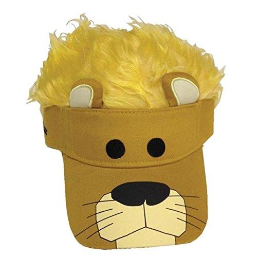 Flair Hair Bear Kids Visor ()