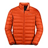 Eddie Bauer Men's CirrusLite Down Jacket, Scarlet Regular S
