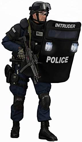 12 Figura De Acción Unidad De Operaciones Tácticas De La ESU De La Policía Especial De Nueva York para Obras De Arte, Dibujos, Fotografía, Bricolaje O Simplemente Una Simple Colección: Amazon.es: