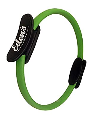 Eden's Choices Pilates Ring - Resistance Body Toning Magic Circle - Power Equipment to Sculpt Strong Arms, Inner and Outer Thighs, Develop A Strong Core, Improves Flexibility and Increase Strength
