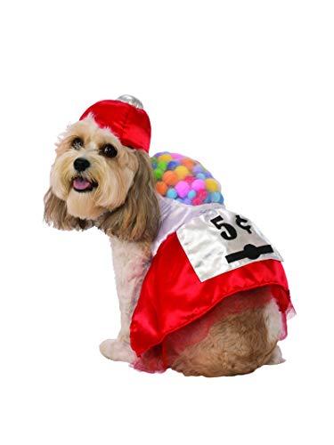 Pack Of Gum Halloween Costume (Rubie's Gumball Dress Pet Costume,)