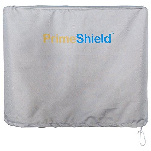 PrimeShield Heavy Duty Outboard Motor Cover 600D Waterproof Motor Hood Cover (10 Hp Outboard Motor)