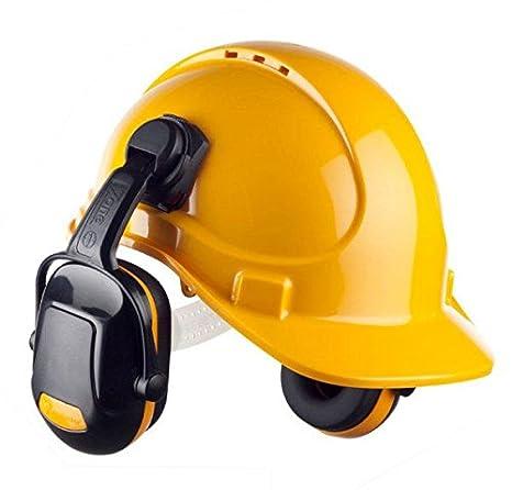 Z1 casco Industrial metlex amarillo auriculares deportivos: Amazon.es: Bricolaje y herramientas