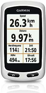 """Garmin Edge Touring - GPS para ciclismo de 2.6"""", blanco"""