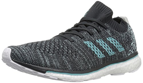 adidas Men's Adizero Prime Parley Running Shoes, carbon, blue spirit s, ftwr white, 10 M US