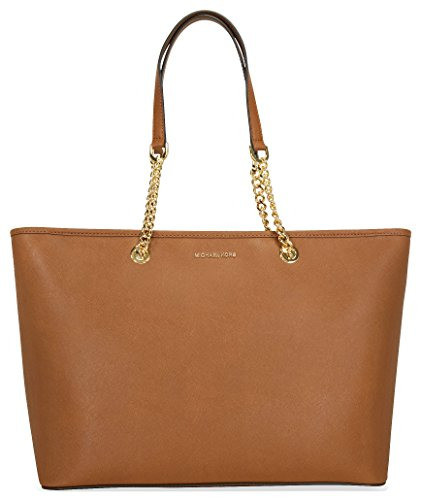 MICHAEL MICHAEL KORS Jet Set Leather Chain Tote, Luggage (Michael Tote Bags)