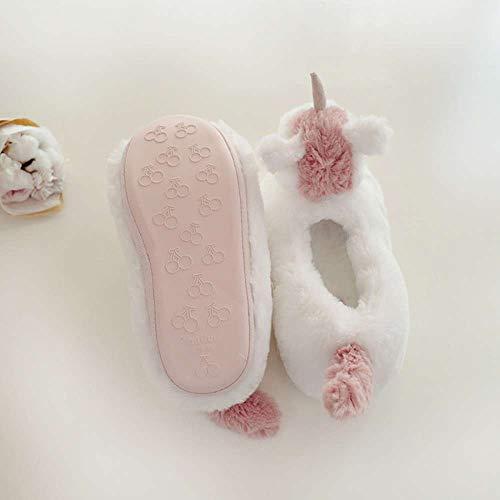 Foam Cover Gifts Women House Slippers Slippers Girls Animal Heel Novelty Memory Plush Unicorn q06nRTZPT