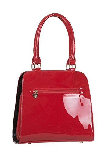 Red Vintage Handbag Days Lilia Large Dancing Ladies YwC6aqx