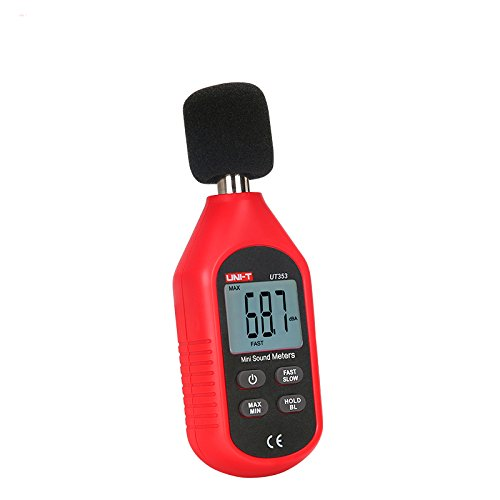 Mini LCD Display Digital Sound Level Meter Noise Measuring Instrument Decibel Monitoring Tester 30-130dB CTI UT353