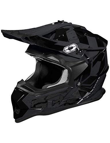 (Castle Mode MX - Stance - MX/Off-Road/ATV/UTV Helmet (MED, Black))