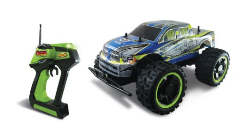 NKOK Mean Machines Ram 2500 Power Wagon Remote Controlled Vehicle, 1:10 (Muscle Machines Rc)