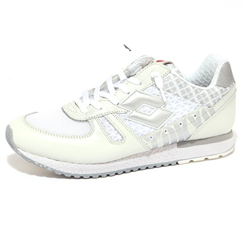 LOT hombre LEYENDA bajas zapatillas de deporte S2991 Shibuya de Tokio 42 Bianco ucN6q
