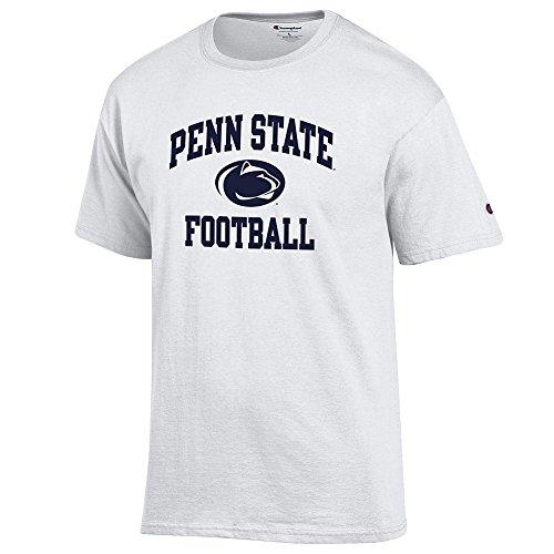 Elite Fan Shop Penn State Nittany Lions Tshirt Football White - M