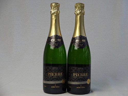 De-alcohol sparkling wine 0.00% Pierre zero Blanc de Blanc (France) 750ml X 2 ()
