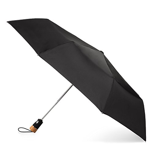 : totes 70mph Windproof Titan Auto Open Close Umbrella with Neverwet
