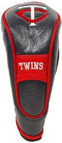 Team Golf MLB Minnesota Twins Hybrid Golf Club Headcover, Velcro Closure, Velour lined for Extra Club Protection -