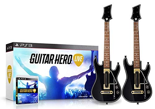 Guitar Hero Live 2 Pack Bundle - PlayStation 3