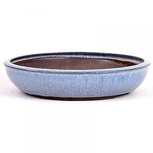 Bonsai–Cuenco redondo 28x 6cm de diámetro, color azul claro 30022