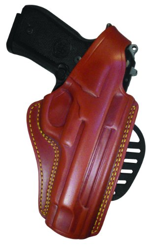 - Gould & Goodrich 807-G19 Gold Line Paddle Holster (Chestnut Brown) Fits GLOCK 19, 23, 32