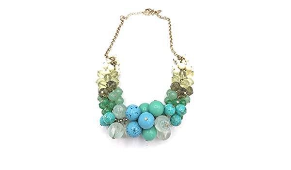 Bonyak Jewelry 18 Inch Rhodium Plated Necklace w// 6mm Jet Birth Month Stone Beads and Shamrock Cross Charm