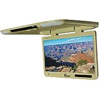 Tview 25 TFT Flipdown Monitor Built in IR Remote Light Tan - T257IRTAN