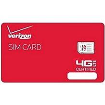 Brand New Oem Verizon SIM Card NFC Nano 4g LTE 4ff- Samsug Galaxy S6, S6 Edge & Androids