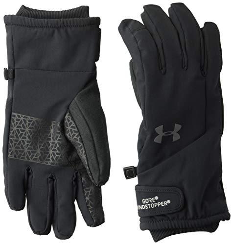 Womans Windstopper (Under Armour Women's Windstopper Glove, Black (001)/Graphite, Small)