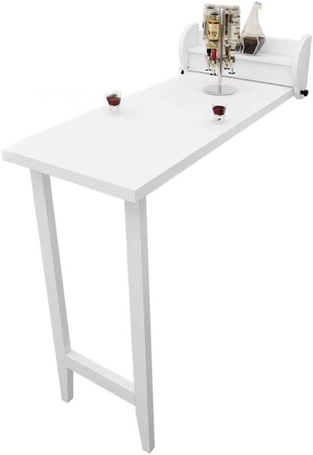 Bseack_wall table Mesa Plegable de Madera Maciza Nordic, Montaje ...