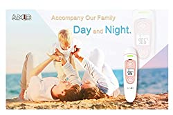 AKID Medical Thermometer for Fever, Instant Accurate Reading Ear and Forehead Thermometer for Baby Kids and Adults 4 Modes Digital Infrared Thermometer Professional Certification