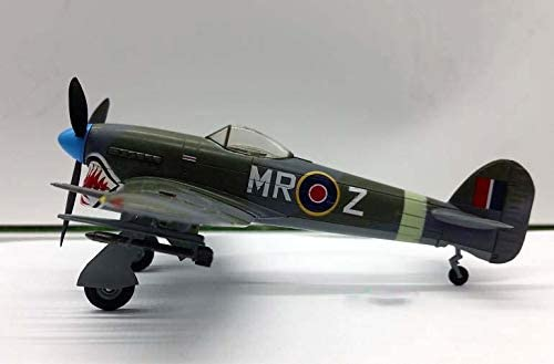 Details about  /WWII Hawker Typhoon MK 1B 245 Squadron Weighbergh 1//72 Finished Plane Easy Model