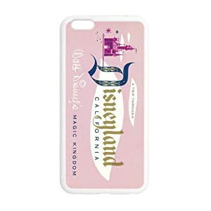Vintage Ticket Design Back Cover TPU For iphone 6 Plus (5.5 inch), Custom iphone 6 Plus Case - YurieStore by supermalls