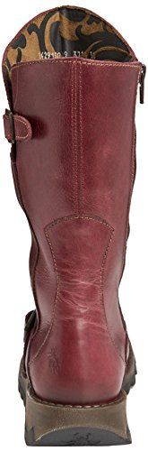Fly London Womens Mes Leather Boot Purple