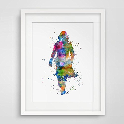ae9d78fd2 Image Unavailable. Image not available for. Color  Severus Snape Harry  Potter Art Print Watercolor Poster Always ...