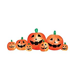 Halloween Deco Airflowz 8 ft. Inflatable Pumpkin Patch