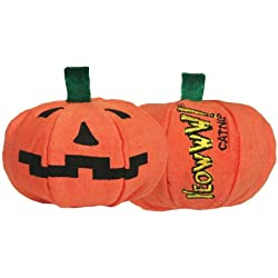 Yeowww Halloween Pumpkin Catnip Toy