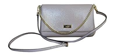 Kate Spade New York Greer Bixby Place Shoulder Bag, Handbag, Clutch, Mousse Frost