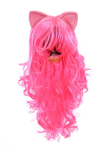 Pinkie Pie Cosplay Costume (My Little Pony Pinkie Pie Costume Wig With Ears by elope)