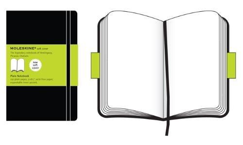 Moleskine QP618 - Cuaderno A5 (13 x 21 cm), color negro