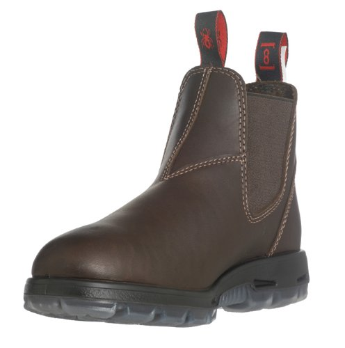 RedbacK Boots UNPU Great Barrier Water Resistant - Puma Brown Leather (US10.5/AU9.5 Mens)
